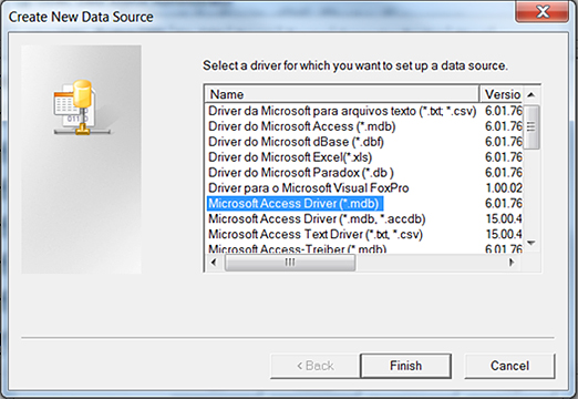 How To Create An Odbc Database In Microsoft Access